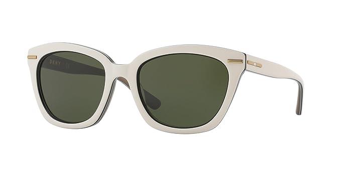 DKNY 0Dy4142, Gafas de Sol para Mujer, White Black, 53 ...