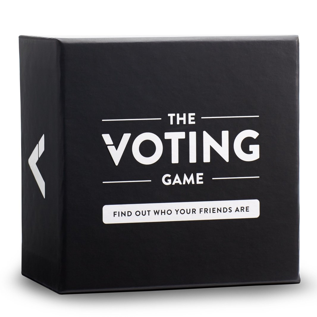 The Voting Game: The Adult Party Game About Your Friends
