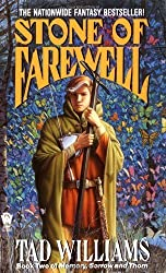 The Stone of Farewell by Tad Williams epic fantasy book reviews
