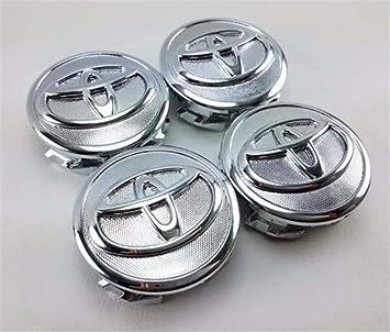 Jqlcgtmqwu Tapas de Cubo con 4 Ruedas para Toyota 07-13 Prius 09-13