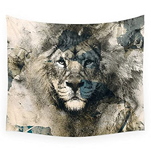 Society6 LION CAMOUFLAGE Wall Tapestry Small: 51