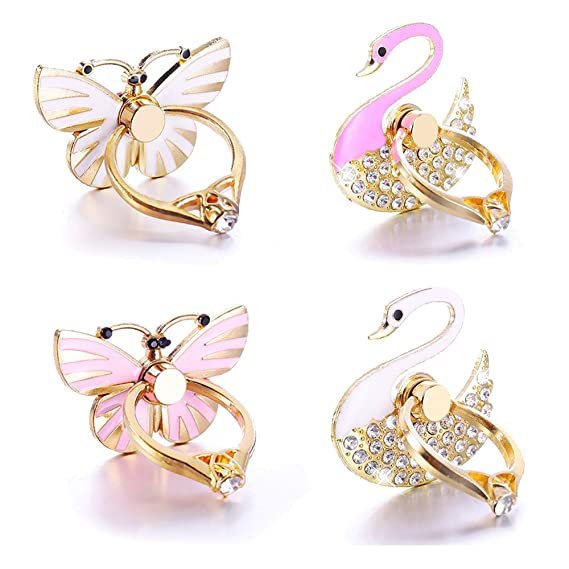Mobile Phone Accessories 2019 Mobile Phone Stand Holder Unicorn Wing Finger Ring Mobile Smartphone Holder Stand For Iphone Xiaomi Huawei All Phone