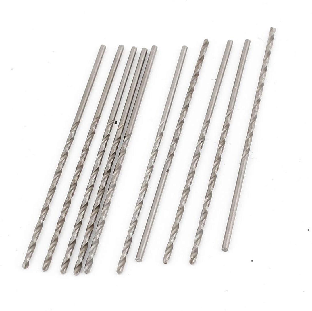 model: K9342XIII-7267LP Aexit Broca de perforaci/ón de broca helicoidal HSS de 1 mm x 70 mm Brocas de perforaci/ón 10 pcs