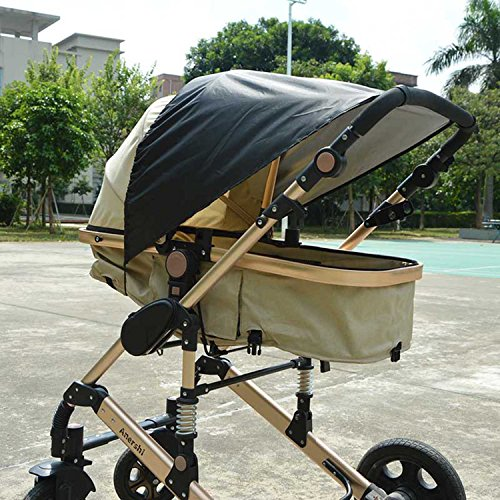 New design Baby Sunshade With UV Protection Car Seat Sun Shade Cover Sun Shade for Pushchair/Pram by E-LU (Image #1)