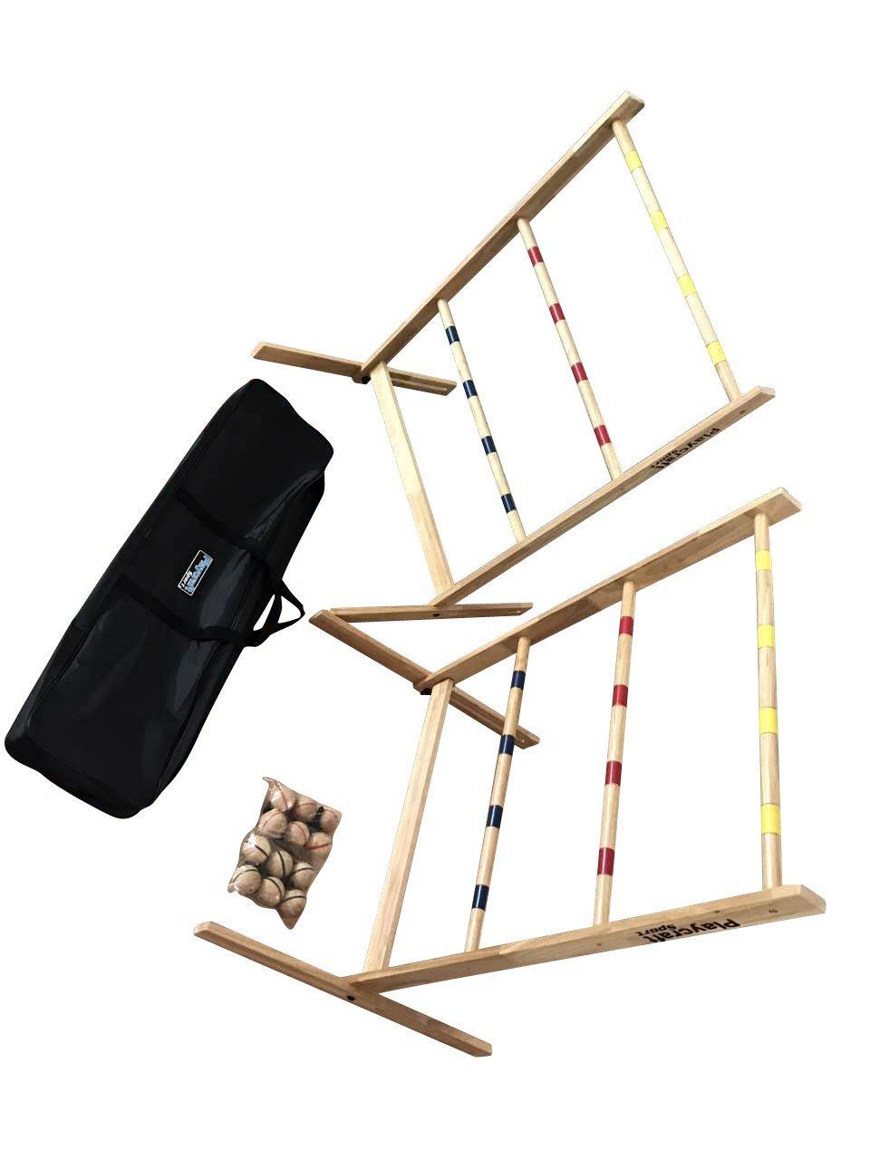 Playcraft Sport Deluxe Hardwood Ladder Toss by Playcraft Sport