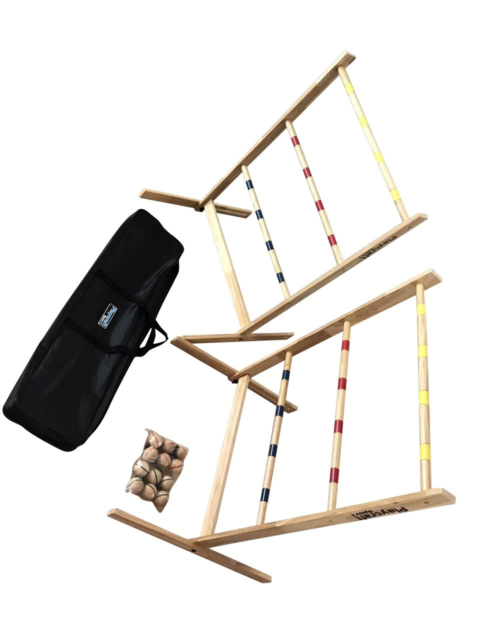 Playcraft Sport Deluxe Hardwood Ladder Toss