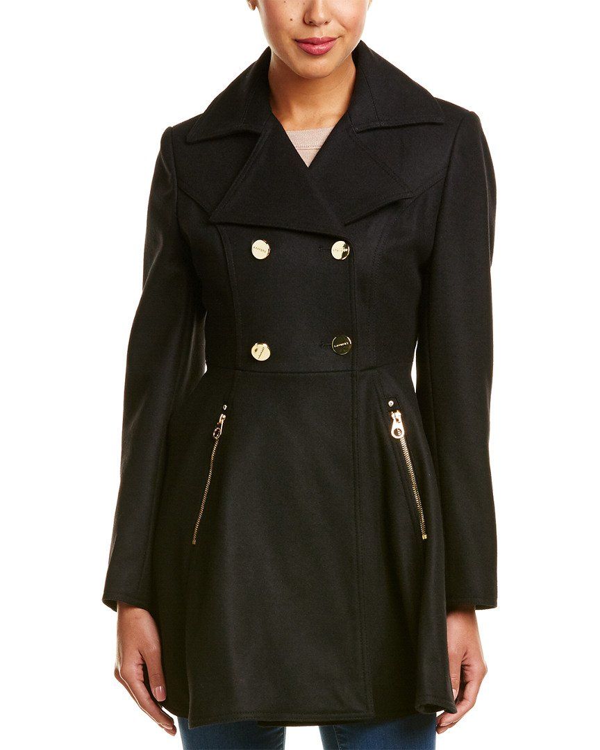 Laundry Fit & Flare Coat Black Medium