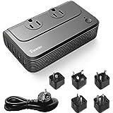 Amazon.com: eDealMax Puerto USB nos enchufe de cargador de ...