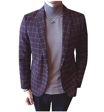 SportsX - Chaqueta de traje - para hombre marrón café XL: Amazon ...