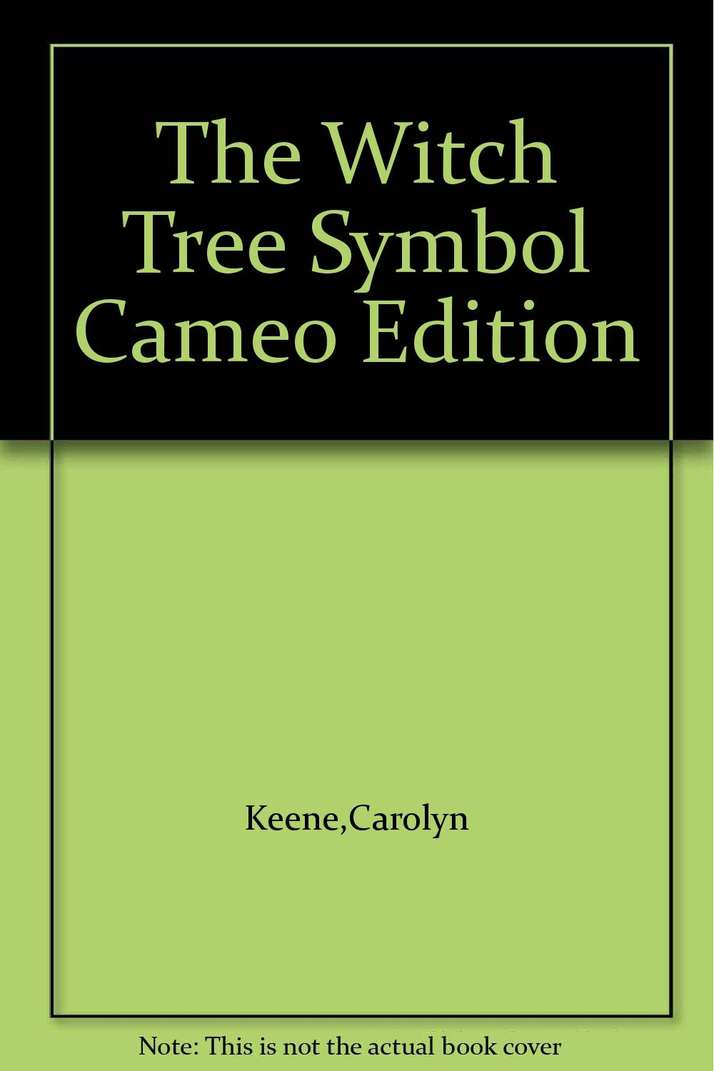 The Witch Tree Symbol Cameo Edition Amazon Books