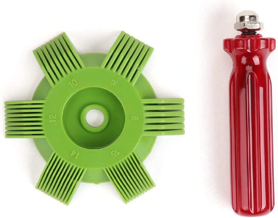Universal Plastic Car A//C Radiator Condenser Evaporator Fin Straightener Coil Comb for Auto Cooling System Tool