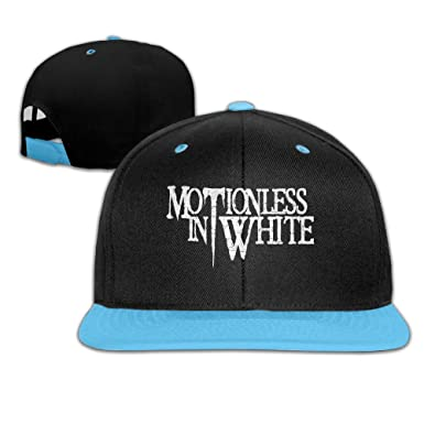 Kids Caps   Hats Motionless In White Gothic Metal Band Adjustable Blue  Snapback edeca84e419