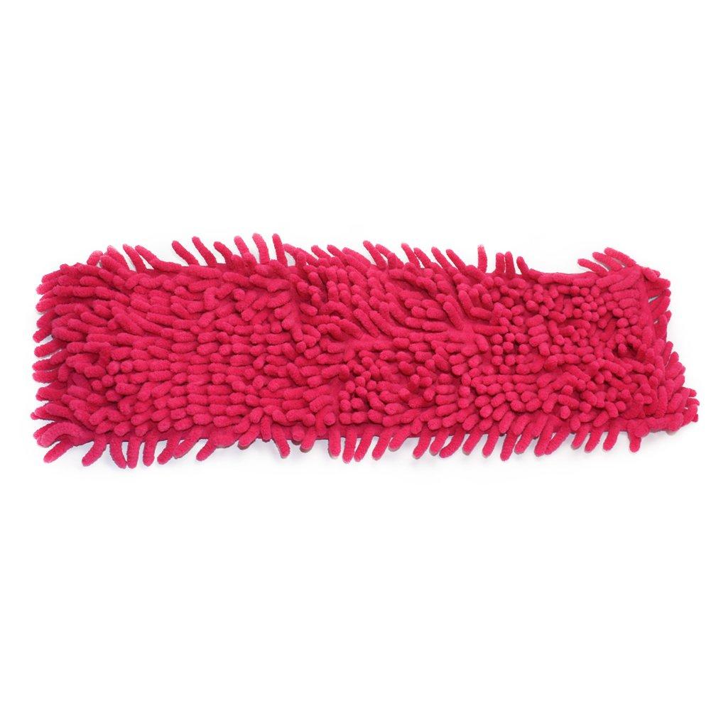 Homgaty Microfibre Floor Noodle Mop Head Duster Cleaner Sweeper Wooden Tile Wet Dry 40x12cm(Blue)