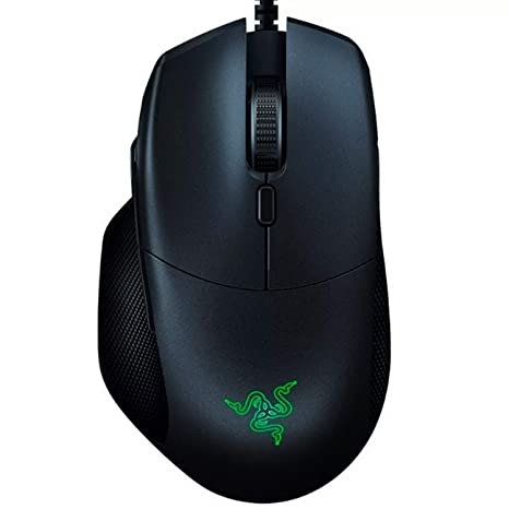 Razer Basilisk Essential Gaming Mouse: 6400 DPI Optical Sensor - Chroma RGB  Lighting - 7 Programmable Buttons - Mechanical Switches - Matte Black