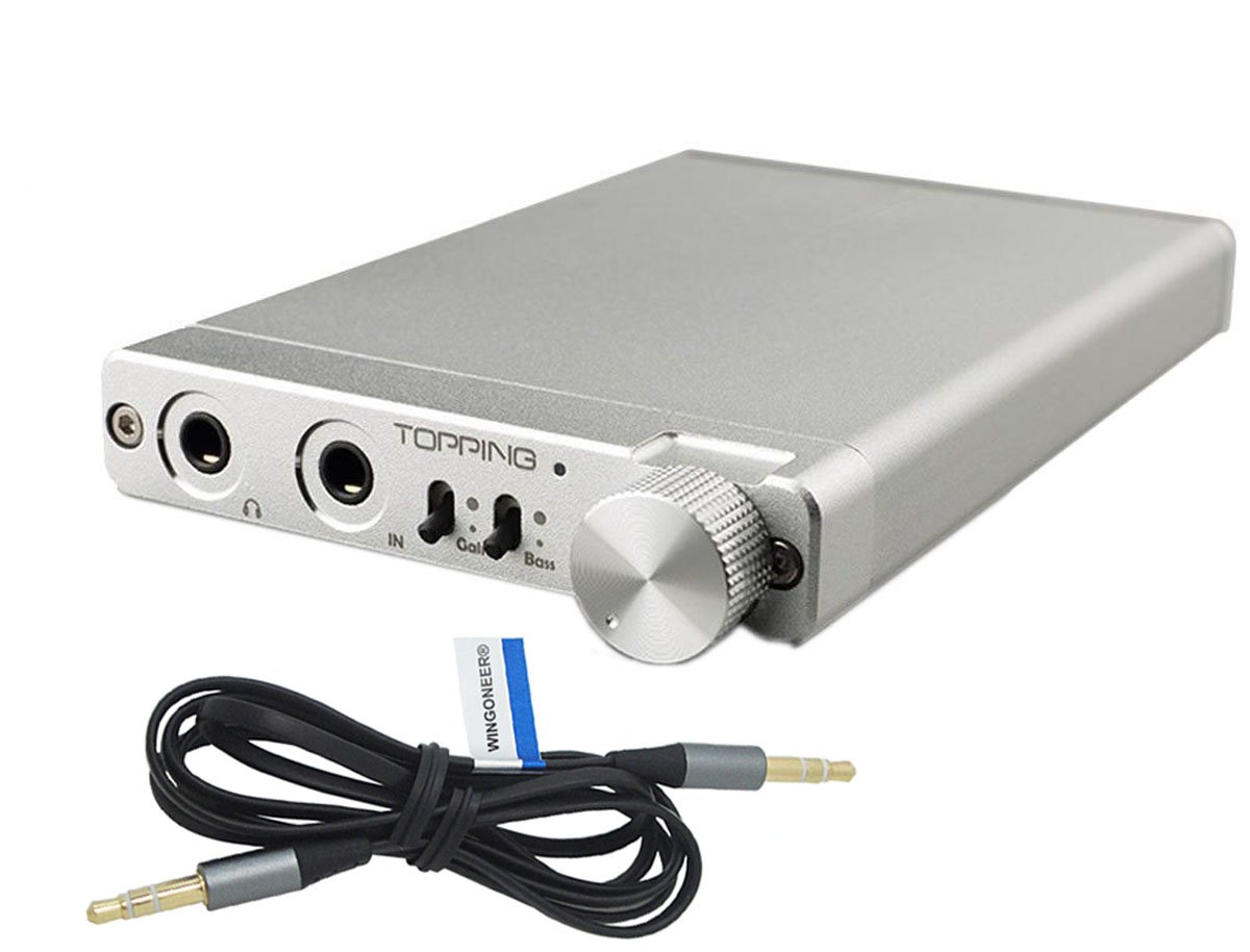 Topping NX3 amplificador portable para auriculares muy fino, plateado.: Amazon.es: Coche y moto