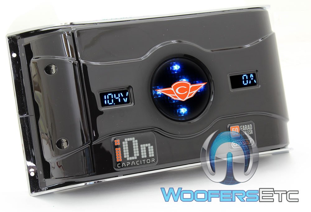 CAP50F - Cadence 50F 16V Stiffening Capacitor by Cadence