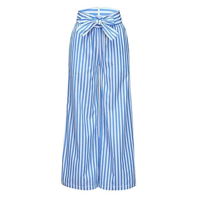 Amazon.com: Creazrise - Pantalón largo para mujer, estilo ...