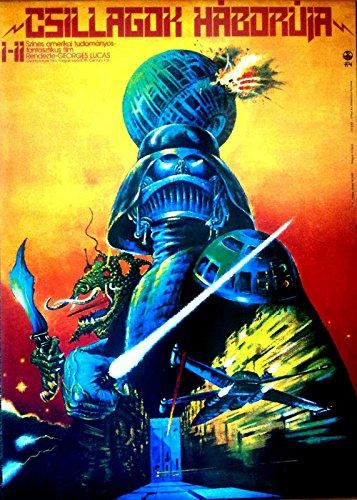 STAR WARS Hungarian Movie Poster Darth Vader Jedi Empire Skywalker 24x36inch ()