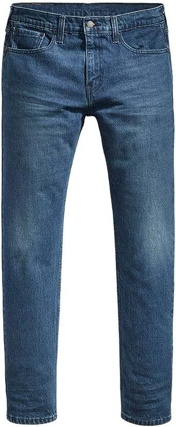Calça Jeans Levis Masculina 502 Regular Taper Azul Média