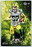 #6: Football NFL 2014 Topps Fire #86 Jordy Nelson NM-MT Packers