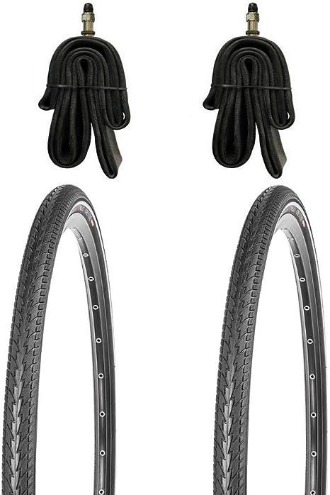 Juego de 2 neumáticos para bicicleta de 28 pulgadas (700 x 38 C ...