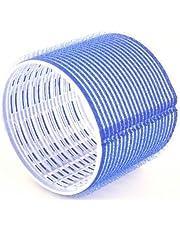 Hair Tools Velcro Cling Hair Rollers - Jumbo Dark Blue 76 mm x 6