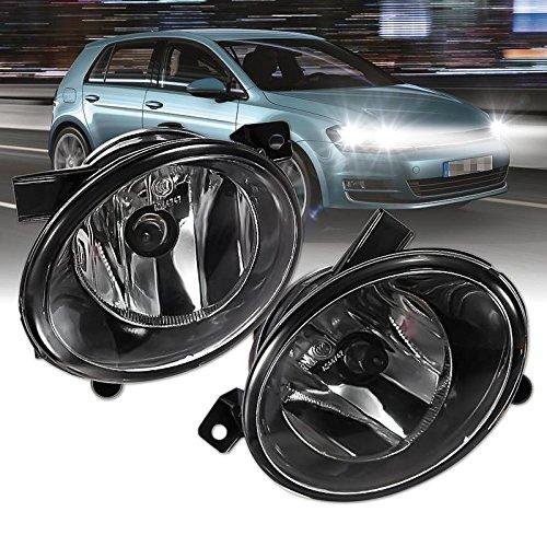 Fog Light,ThyWay Single 12V 55W Driving Front Bumper Light Fog Lamp for VW Jetta Sportwagen GOLF MK6 10-12 (Light Driving 55w)