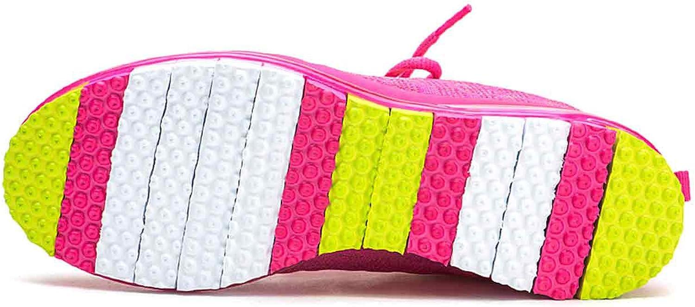 Skazz by Sansha Women's Dance Studio Exercise Sneakers Mesh Rubber Full Sole Spicy (US 8.5 / Skazz 09 M) Fuchsia/Yellow
