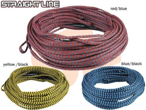 STRAIGHT LINE(ストレートライン) ウェイクボード用メインライン 80'X-ジャケットライン 5-Sec  イエロー&ブラック B00K2O2W4G