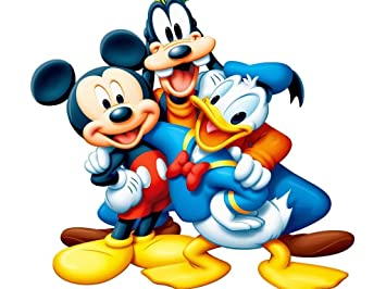 Ravgar Disney Donald Duck Mickey Mouse Goofy Les