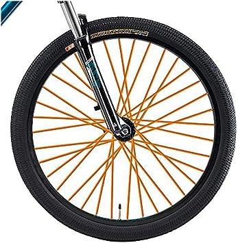 FORUMALL Cuentas de radios de Bicicleta Multicolor Aproximadamente 72 Piezas