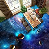 ZLJTYN 370cmX245cm Providing various designs for wallpaper murals 3d floor murals home use planets solar system for floor