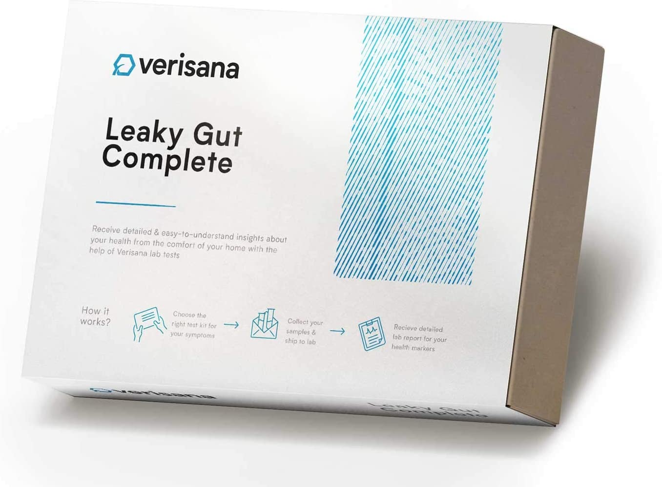 Amazon Com Leaky Gut Complete Stool Test Determine Leaky Gut Syndrome Candida Gut Flora Imbalances Measures Secretory Iga Zonulin Health Personal Care