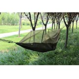 Camping Hammock with Mosquito Net,Double Persons Iqammocking Bed Tent Portable Cot for Relaxation,Traveling,Outside Leisure