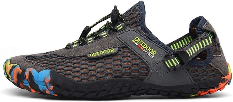 Zapatos de agua JIAGU, para hombre, para senderismo, pesca ...