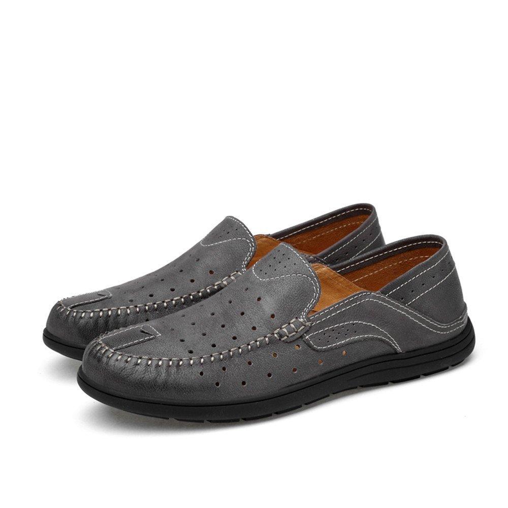 e8e9ee5709c4e Amazon.com: Gobling Men's Driving Penny Loafers Patch Vamp Slip-on ...