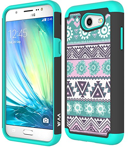 j3-emerge-casegalaxy-j3-2017-casevvia-shockproof-pc-flexible-silicone-hybrid-armour-protective-caseh