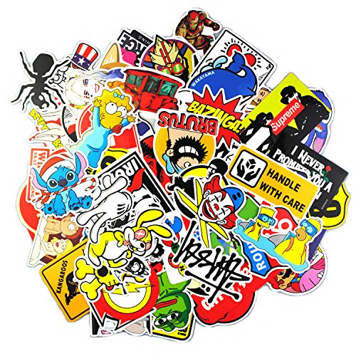 Sticker Pack ,Sanmatic Sticker Decals Vinyls for Laptop,Kids