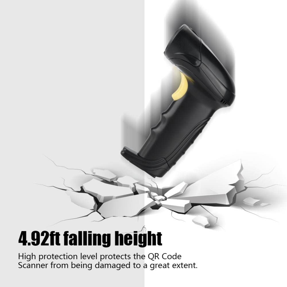 Supermarket USB 2.0 Automatic Barcode Reader High Speed Manual//Auto Continuous//Fixing Auto POS Handheld Scanning Machine for Store Vbestlife Barcode Scanner Warehouse