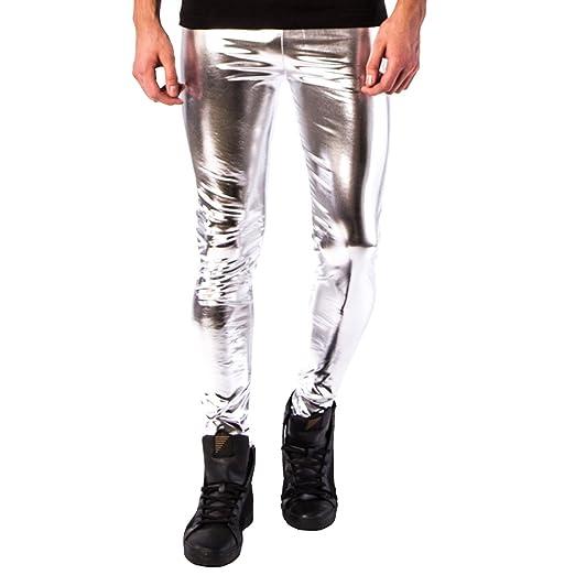 f7a8d8487800b Kapow Meggings Men's Metallic Range Leggings - Holographic, Wet Look &  Glitter