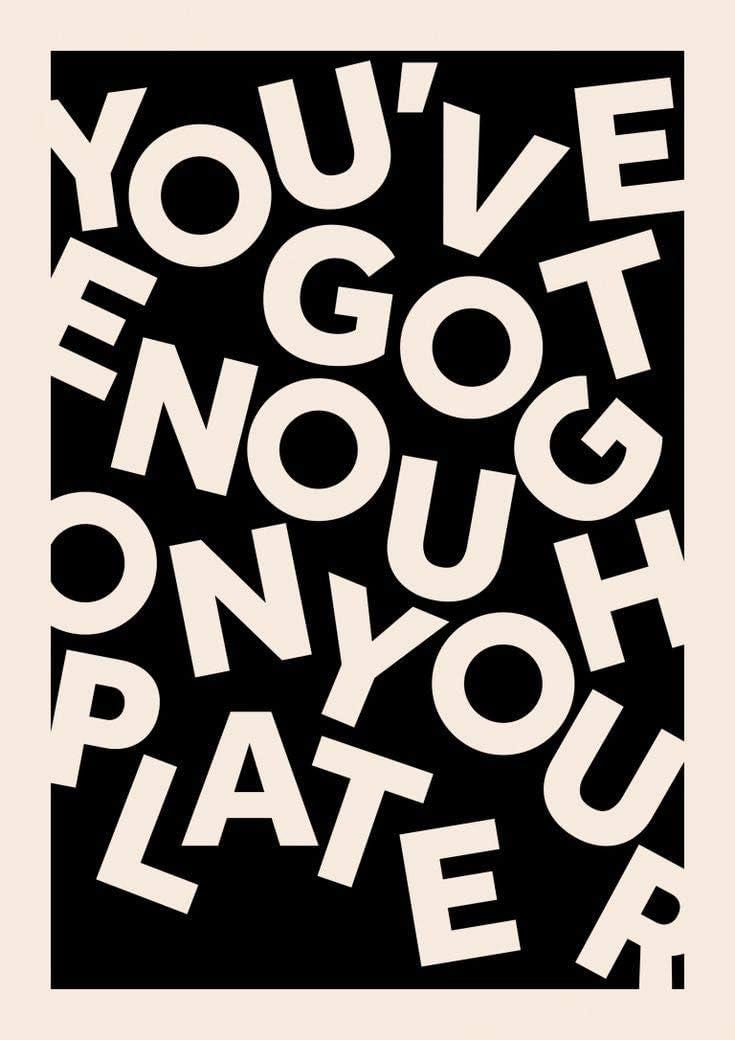 VinMea Funny Words Postive Words On Canvas Worry Less More Faith On Canvas Modern Wall Art Decor Wooden Framed 16