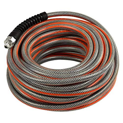 3/8 x 75 Ft Striper Flex Reinforced Hybrid PVC Air Hose Bend Restrictors 300 PSI