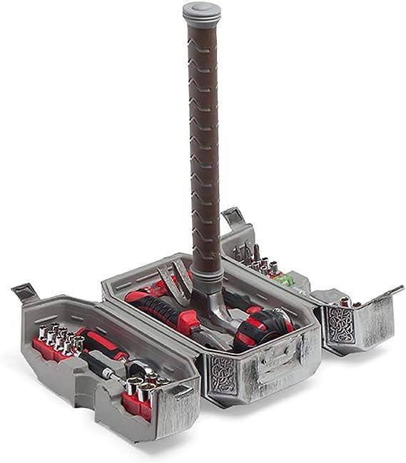 Thor Marvel - Martillo de Asgardian Mjolnir (44 piezas): Amazon.es: Hogar