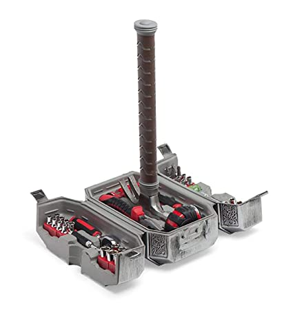 Marvel Thor Hammer Tool Setofficially Licensed Amazoncom