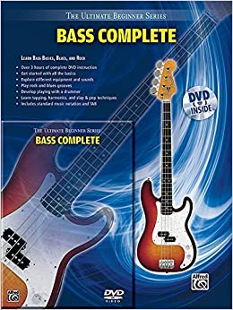 Book Ultimate Beginner Series: Bass Complete (Book & DVD (Hard Case)) by Staff (2009-01-15)