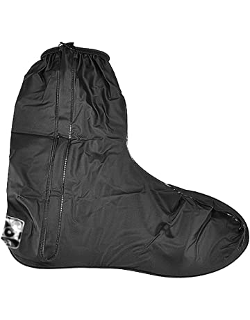 ab16c1fb6f Rain Gear Boot Shoes Cover Gaiter Anti Slip Sole Side Zippered US Men Size  12-