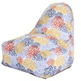 Majestic Home Goods Kick-It Chair, Blooms, Citrus