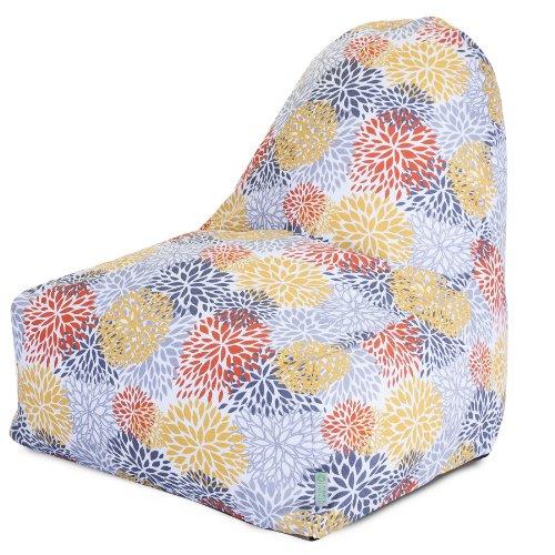 Majestic Home Goods Kick-It Chair, Blooms, Citrus