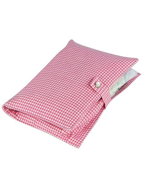 boubalou Little Pink bolsa para pañales de tela – pequeño – bolso cambiador (