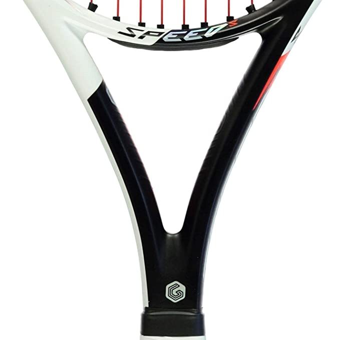 Amazon.com : Official Head Graphene Touch Speed S Tennis Racket Adult Black/White/Red Sports Racquet : Sports & Outdoors